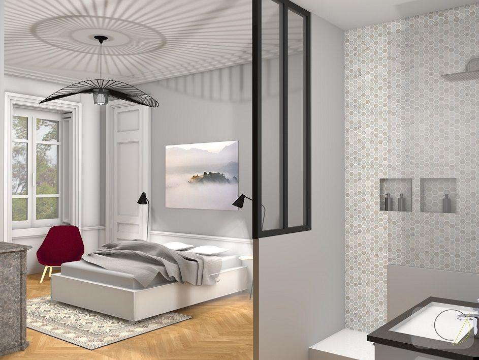 Assez Rénovation d'un appartement haussmannien - Lyon par Camille BASSE  GH64