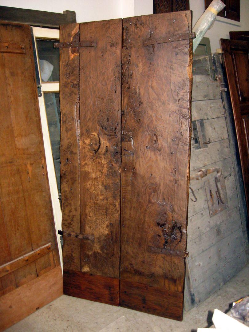 Popolare Porta antica restaurata arredamento interni moderni di Portantica  BG75