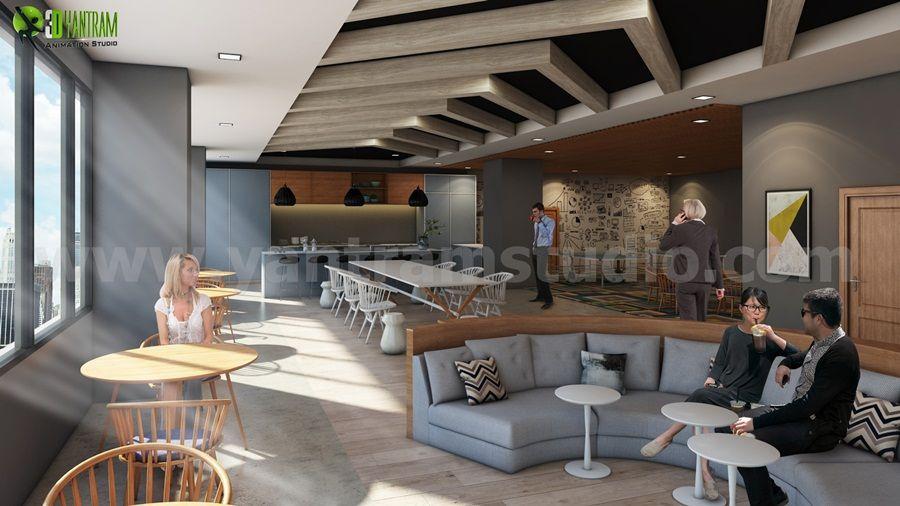 Stylish Office Interior Design Ideas by Yantram interior design