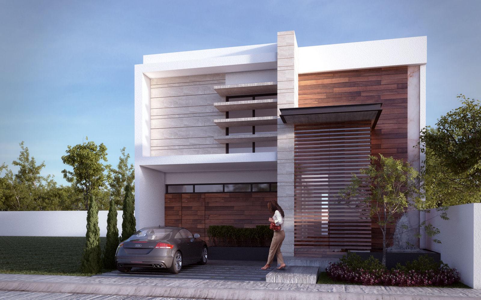 10 casas minimalistas pequeas