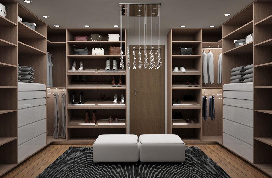 Vestidores y closets modernos ideas homify