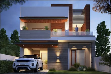 Modern style house design ideas pictures homify for Modern house designs hd