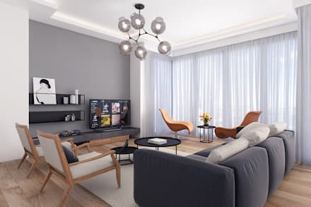 Modern living room ideas inspiration pictures homify