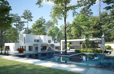 Garden Pool Design Ideas Inspiration Pictures Homify