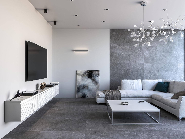 Como Pintar Salon Moderno - Salones-moderno