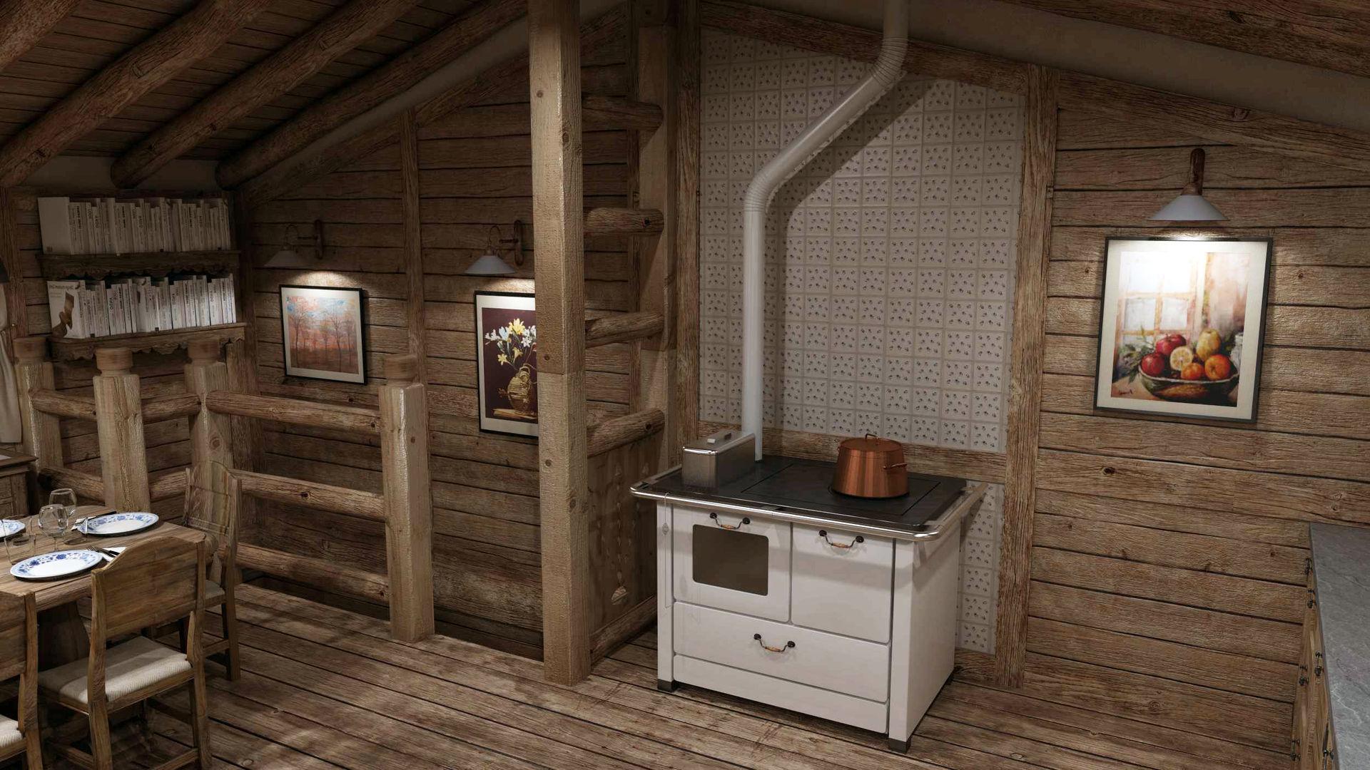 Cucine di montagna av48 regardsdefemmes - Idee arredamento casa montagna ...