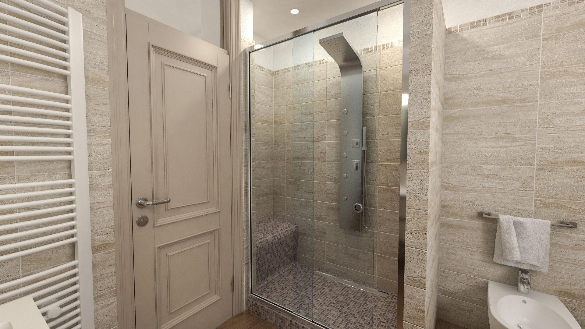 Progetti di bagni qm35 pineglen - Progetti bagno moderno ...
