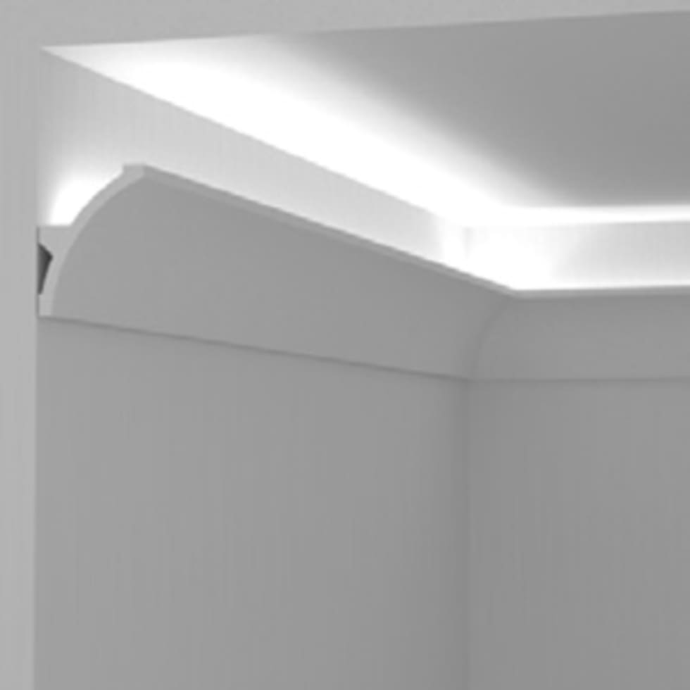Super Cornici per luce diffusa tra parete e soffitto di Eleni Lighting  TO37
