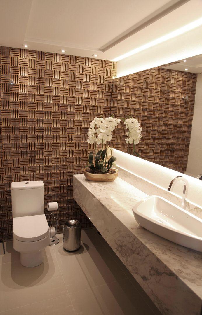 Lavabo moderno banheiros r sticos por suelen kuss arquitetura e interiores homify - Fotos lavabos modernos ...