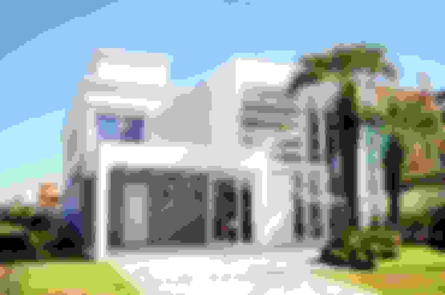 16 fachadas de casas modernas ¡que te van a inspirar al máximo!