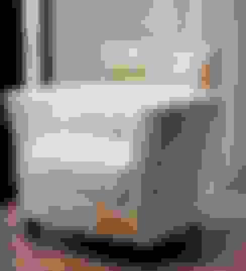 غرفة المعيشة تنفيذ MUMARQ ARQUITECTURA E INTERIORISMO