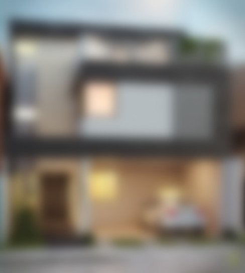 Casas de estilo  por arQing