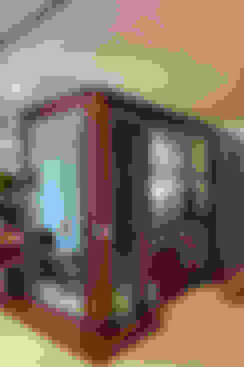 Cliente G: Corredores e halls de entrada  por Link Interiores