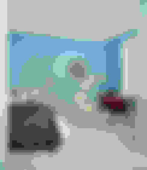 غرفة المعيشة تنفيذ VINTAGENCY