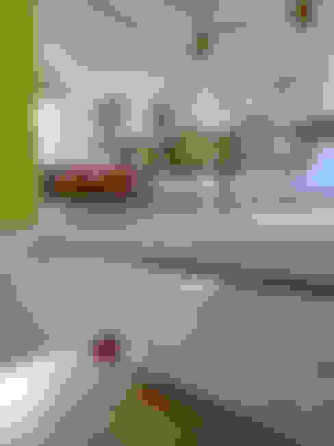 Eetkamer door Sophie Nguyen Architects Ltd