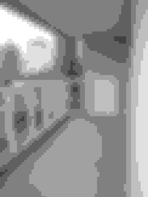 Apartamento Colorido - Antes: Terraços  por Brunete Fraccaroli Arquitetura e Interiores