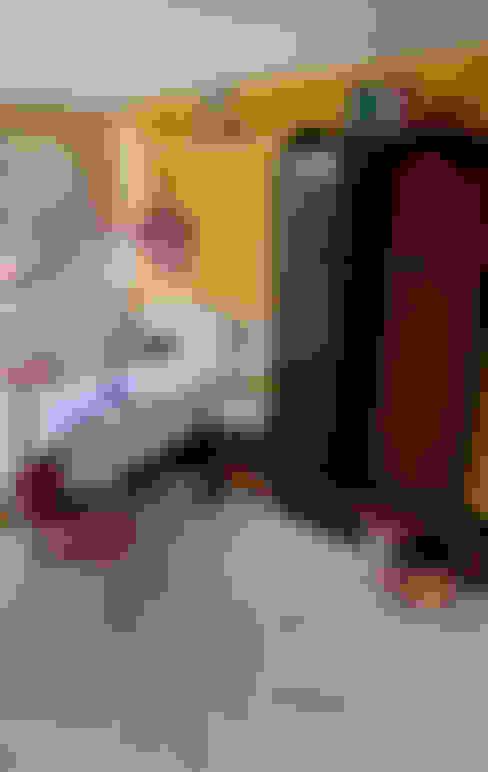 Dormitorios infantiles de estilo  por IJzersterk interieurontwerp