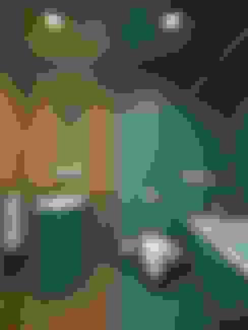 حمام تنفيذ EVGENY BELYAEV DESIGN