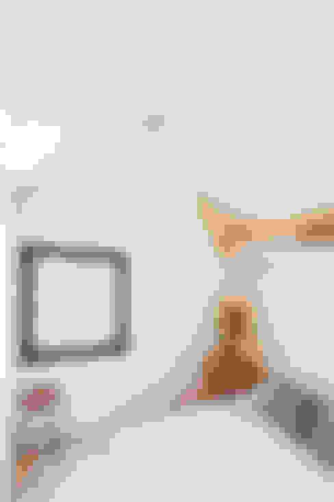 غرفة نوم تنفيذ ÁBATON Arquitectura