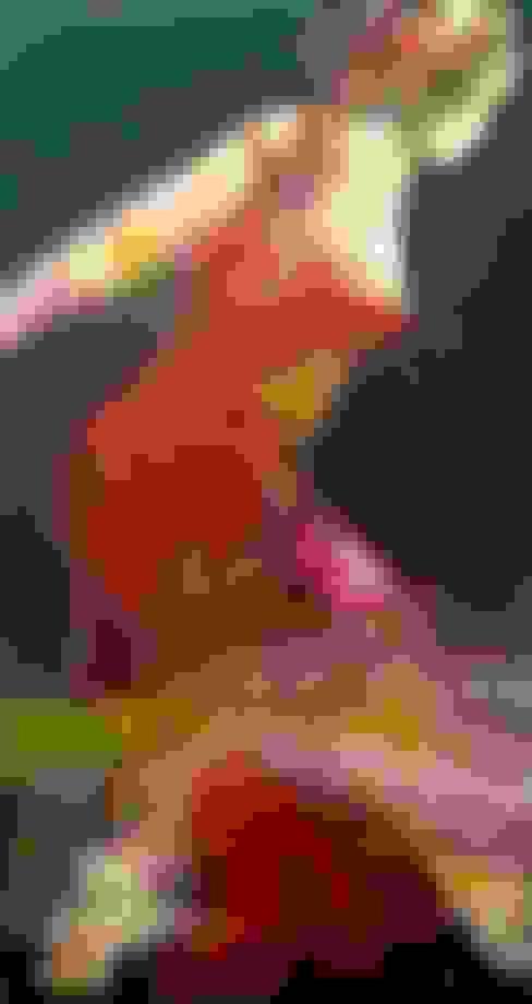 nachtvlinder 100x190cm:  Kunst  door Kathalijne Hes