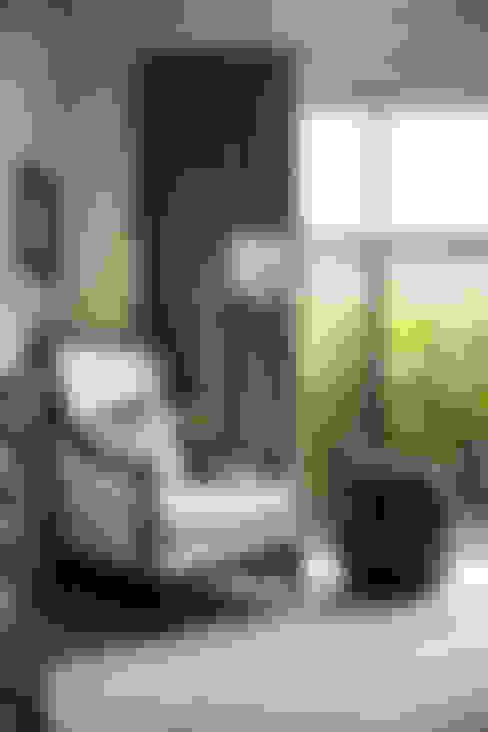 غرفة المعيشة تنفيذ Moda Interiors