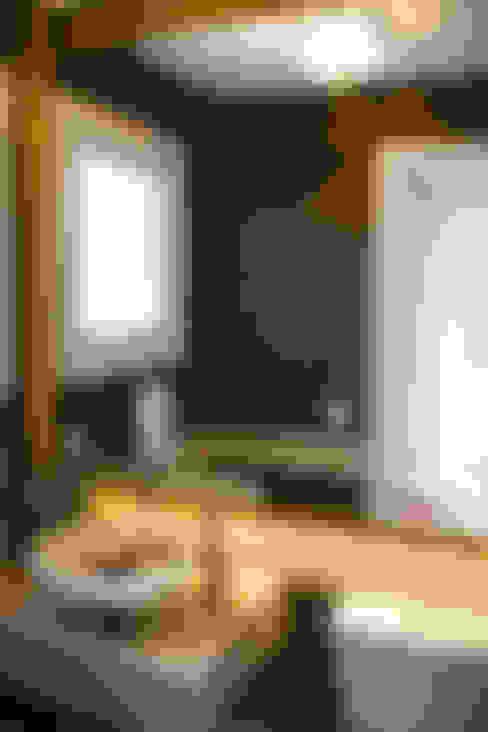 Projeto de Arquitetura de Interiores - Lavabo: Banheiros  por Sarah & Dalira