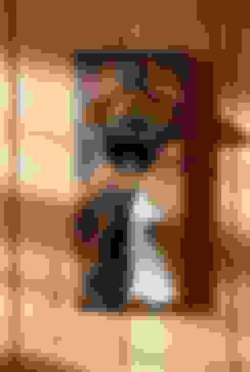 RusticWoodenArt – Duvara monte açacak - Kediler:  tarz Mutfak