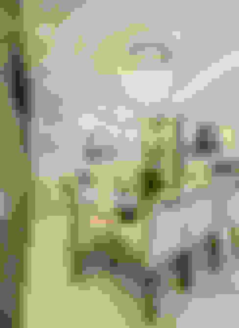 Apartamento Indaiatuba: Salas de jantar  por Designer de Interiores e Paisagista Iara Kílaris