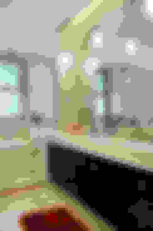 حمام تنفيذ Ana Adriano Design de Interiores