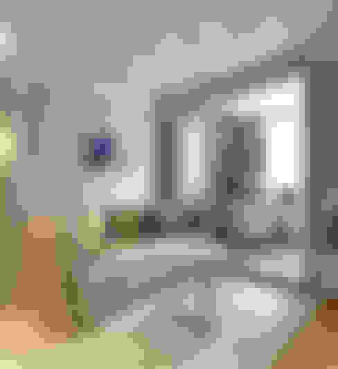 Гостиная, лоджия-кабинет: Гостиная в . Автор – Aledoconcept