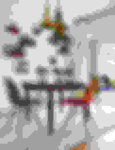 Salle à manger de style  par Bescos-Nicoletti Arquitectos