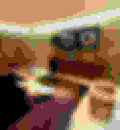 Salas de estar  por PAULA NOVAIS ARQUITECTOS E DESIGN