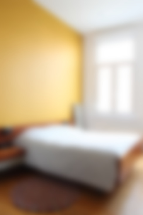 slaapkamer:  Slaapkamer door studio k