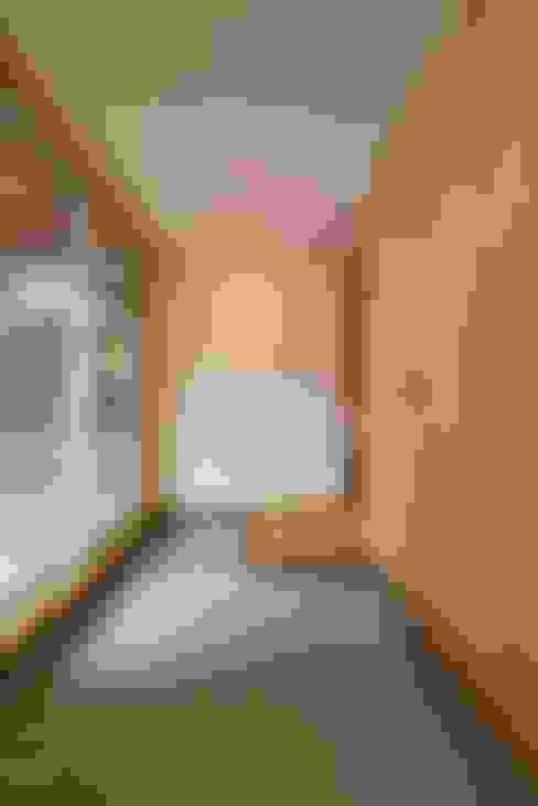 الممر والمدخل تنفيذ アトリエdoor一級建築士事務所