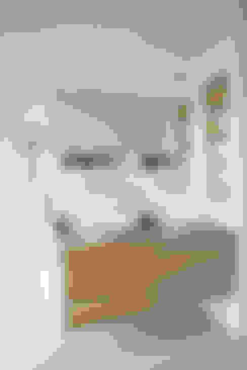 wastafelmeubel:  Badkamer door Boks architectuur