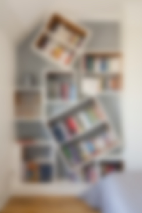 Bibliothèque : Chambre de style  par ATELIER FB