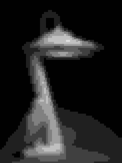 Bureaulamp (XIII):  Studeerkamer/kantoor door atelier De Zondagse Kamer