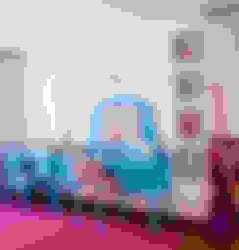 Apartamento Bairro de Higienópolis: Quarto de crianças  por CARMELLO ARQUITETURA