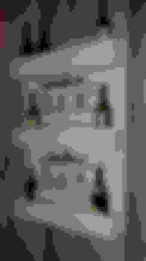 Столовая комната в . Автор – MR Pallets en Kisten