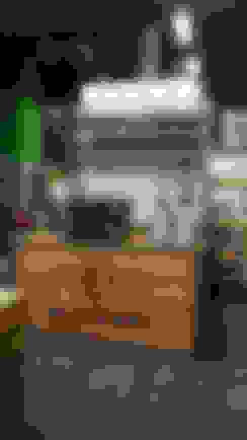 Beursstand Blommer coffee roasters:  Evenementenlocaties door Samosa 'Ontwerp op Maat'