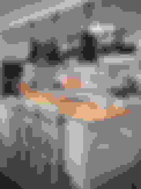 Apartament Warszawa : styl , w kategorii Kuchnia zaprojektowany przez 3deko