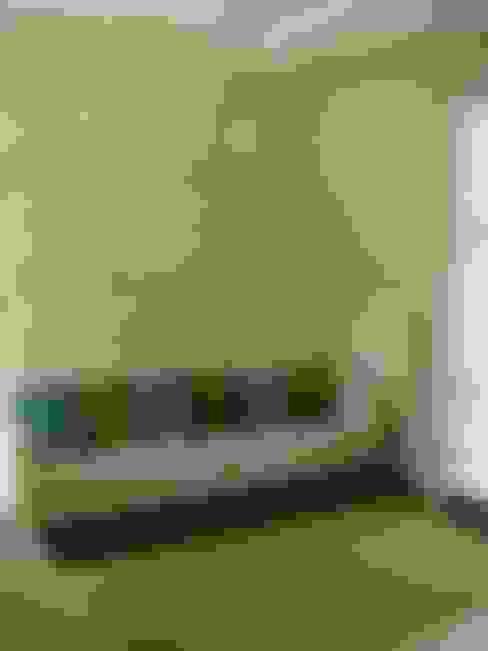 HEBART MİMARLIK DEKORASYON HZMT.LTD.ŞTİ. – Birgen Ekşioglu Evi:  tarz Oturma Odası