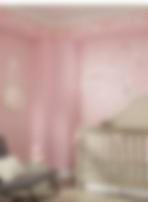 Diseno Papel Tapiz: Recámaras infantiles de estilo  por Crea Decoración