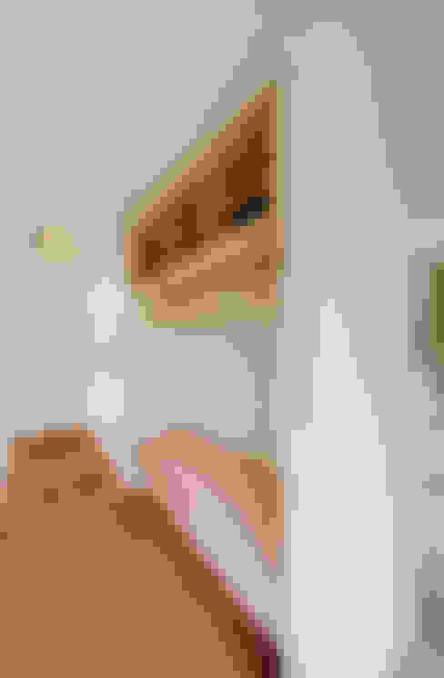 玄關、走廊與階梯 by Möhring Architekten