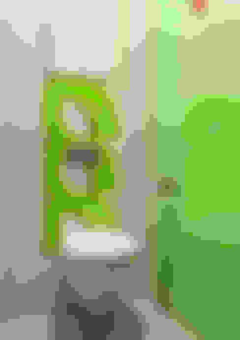 Яркие мечты: Ванные комнаты в . Автор – RogovStudio