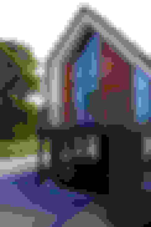 Achtergevel:  Huizen door MEF Architect
