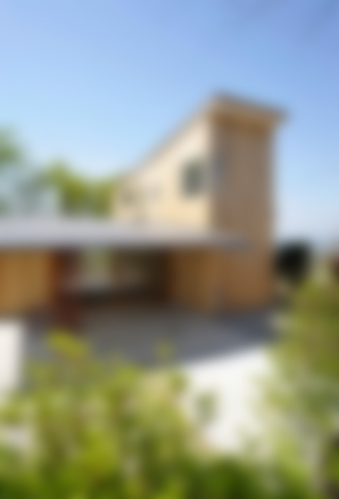 Casas de estilo  por エヌ スケッチ