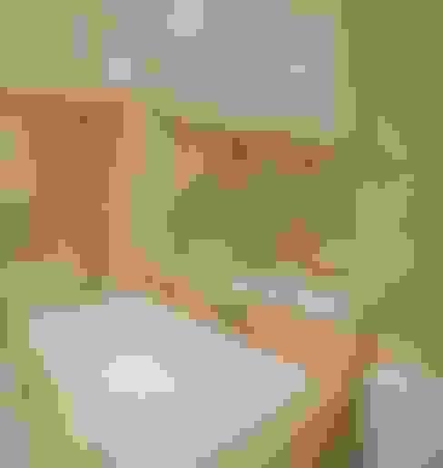 浴室 by Mariane e Marilda Baptista - Arquitetura & Interiores