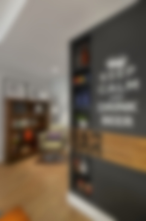 Living room by CR Arquitetura&paisagismo