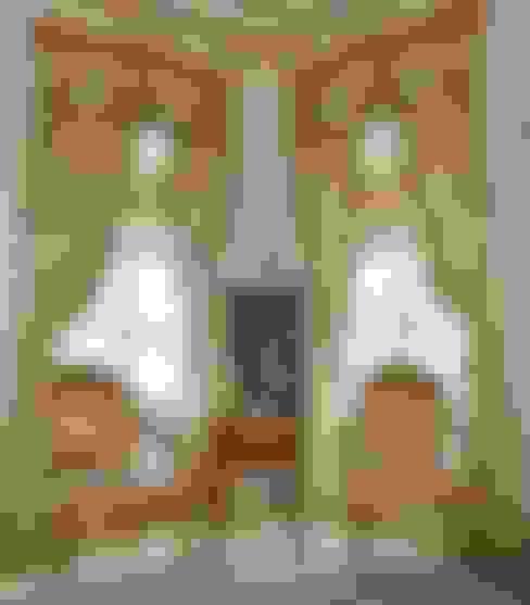 Гостиная в . Автор – Öztek Mimarlık Restorasyon İnşaat Mühendislik